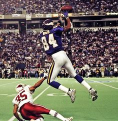 Randy Moss - Football Action Shot