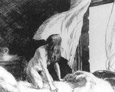 """Edward Hopper """"Evening Wind"""""""