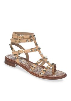 4d88bfb7b04 Stud embellishments add to the impressive look of this Sam Edelman shoe.  It s the perfect