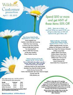 Customer Promotion for April!