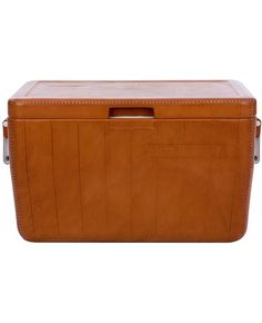 amazing outdoor leather cooler!