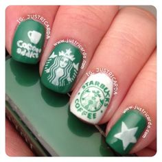 Starbucks nails!