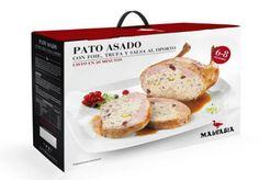 ¡Estas Navidades cocinamos nosotros! Pato asado con foie, trufa y salsa al oporto para 6-8 personas por sólo 61,43€