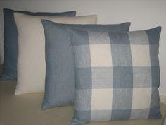 Cushions in Clarke & Clarke's Coastal Linens