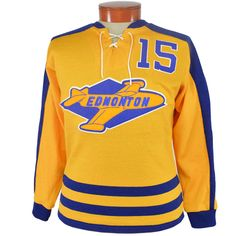 b688df935 Edmonton Flyers 1955 Hockey Sweater