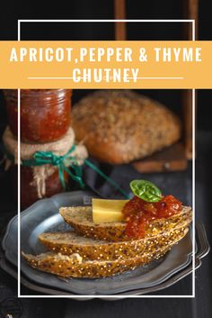 Apricot, Pepper & Thyme Chutney
