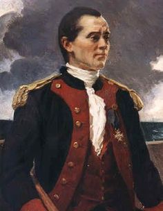 On 6 July 1747 Scottish naval figure, John Paul Jones, was born.  He was born John Paul in a small, white-washed cottage at Arbigland near Kirkbean, Kircudbrightshire. Regarded as the founder of the American navy, Jones became an American national hero during the War of Independence.
