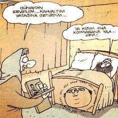 Yatağa sami abinin çıkartmasını yapıştırmışlar :) Caricature, Slogan, Geek Stuff, Cartoon, Humor, Comics, Funny, Animals, Smile