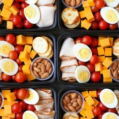 Prep for the week ahead with these healthy, budget-friendly snack boxes! High protein, high fiber and so nutritious!