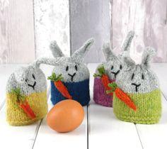 Verde conejo huevo acogedor Mini punto Kit pura lana de