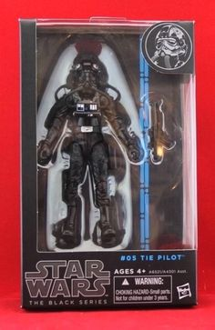 "Imperial TIE Pilot Star Wars The Black Series 6"" Hasbro Action Figure W4 New #Hasbro"