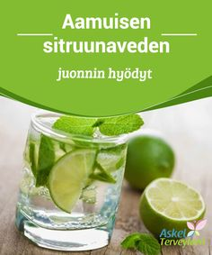 Aamuisen sitruunaveden juonnin hyödyt   Sitruuna auttaa poistamaan #myrkyllisiä aineita sekä estää kehoa #kerryttämästä itseensä #lipideitä.  #Terveellisetelämäntavat