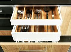 Kitchen drawers for island
