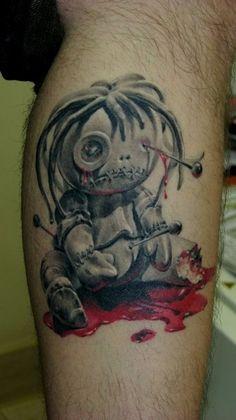 Voo Doo tatuaż - Nasze tatuaże