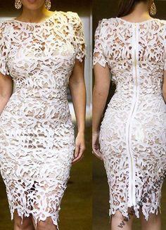 Kup mój przedmiot na #Vinted http://www.vinted.pl/damska-odziez/inne/9874999-sliczna-biala-sukieneczka-koronkowa