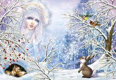 Порно со снегуркой снежинкой снежной королевой