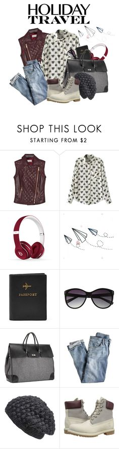 """Untitled #242"" by lo2lo2a ❤ liked on Polyvore featuring Temperley London, Beats by Dr. Dre, Vince Camuto, Mark/Giusti, J.Crew, Nirvanna Designs and Timberland"