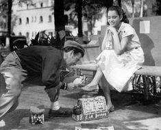 """""""Tin Tan y Perla Aguiar la cinta """"El revoltoso"""", de 1951"""