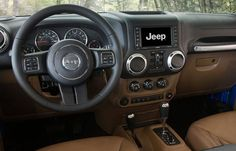 2015 Jeep Wrangler Unlimited Rubicon Interior