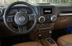 2015 Jeep Wrangler Unlimited Rubicon Interior