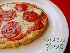 Lovely Little Snippets: Flatbread Pizza