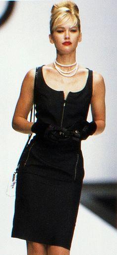 ROCCO BAROCCO FASHION SHOW SPRING SUMMER 1996 - Milan - Valeria Mazza