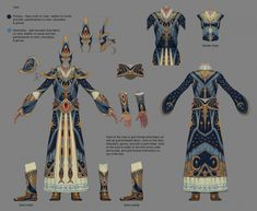 elven mage robes - Google Search