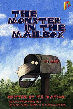The Monster in the Mailbox Tales Of Halloween, Halloween Stories, Mail Writing, Sibling Rivalry, Book Nooks, Mailbox, Book Review, The Book, How To Find Out