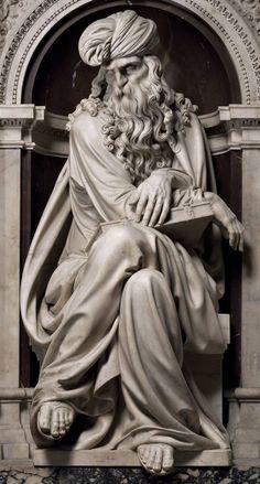 Girolamo Lombardo (1506-1590) Profeti, XVI d.C. Santuario della Santa Casa…