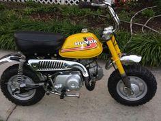 Honda Z50 I restored for my brother.