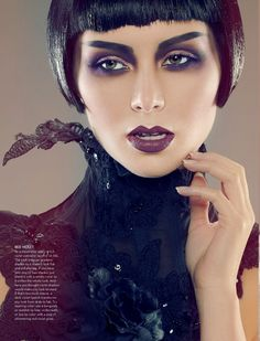 Recent editorial in MEGA Magazine photographer // sean armenta makeup & hair // roshar