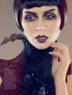 Recent editorial in MEGA Magazine photographer // sean armenta makeup & hair // roshar