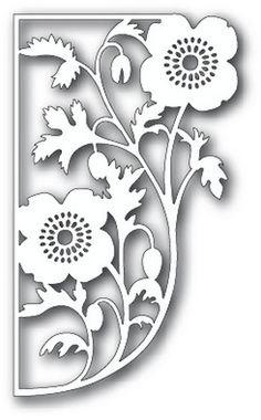 Tutti Designs - Dies - Poppy Edge                             $13.99