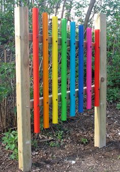 Wonder who I could get to build this? Sensory Garden Musical Instruments
