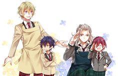 Ensemble Stars Memes (Part Anime Chibi, Anime Art, Boy Character, Adam And Eve, Ensemble Stars, No Name, Bungo Stray Dogs, Funny Cute, Idol