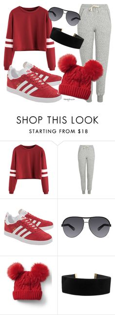 """Just for the Bestie"" by honeybiscot ❤ liked on Polyvore featuring Topshop, adidas Originals, Marc Jacobs, Gap and Georgine"