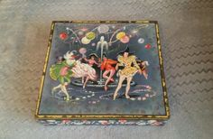 Rare, collectable, vintage Huntley and Palmers biscuit tin | eBay