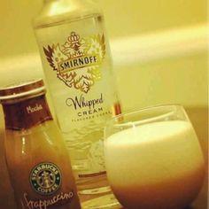 Frappuccino#smirnoff