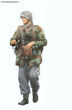 Germany-Private Luftwaffe Field Division 1943