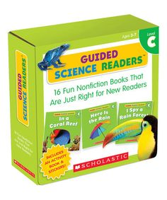 Look at this #zulilyfind! Level C Guided Science Readers Boxed Paperback Set by Scholastic Teaching Resources #zulilyfinds