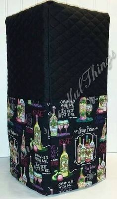 Check out this item in my Etsy shop https://www.etsy.com/listing/198424228/quilted-wine-menu-theme-cover-for-ninja