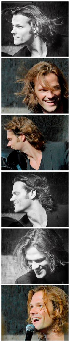 Jared and his fabulous hair at NerdHQ12. I could play in that for hours!