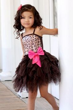 Ooh! La, La! Couture WOW Emma Leopard Dress