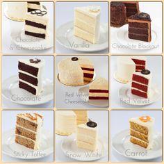 Cake flavor options for your next celebration cake