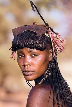 Angola, Africa by hereros Beautiful African Women, African Beauty, Beautiful Black Women, Beautiful People, Tribal People, Tribal Women, We Are The World, People Around The World, Population Du Monde