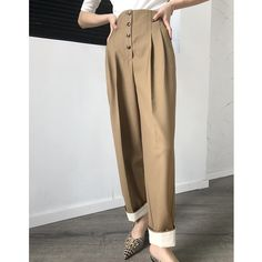 Expensive Women S Fashion Brands Key: 7973616319 Fashion Pants, Fashion Outfits, Womens Fashion, Vintage Pants, Pants Pattern, Straight Leg Pants, Pants Outfit, Jumpsuits For Women, Ideias Fashion