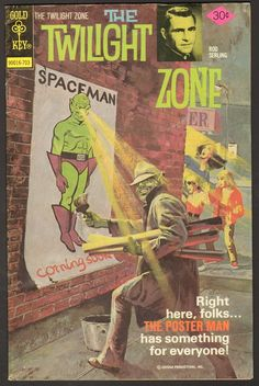 The Twilight Zone Comic #76  Publisher: Gold Key Comics  Date: March 1977
