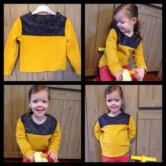Trui met knopen uit SVDHZ 2 met sweaterstof van Bellelien en katoen van Hoffmann Fabrics. http://magnifieka.blogspot.be