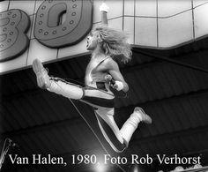 Van Halen, David Lee Roth,  PinkPop, Geleen, 26-5-1980,  Foto Rob Verhorst
