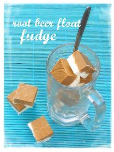 Root beer float fudge
